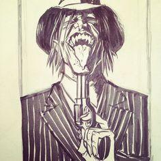 American Vampire sketch.