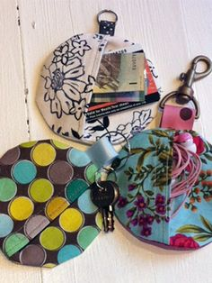 DIY Projects | Sew Be It Studio | Key Chain Pocket