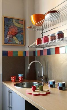 50 cuisines ultra colorées | Kitchens and Moroccan kitchen