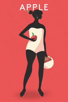APPLE * * * The Best Swimsuits For YOUR Shape  #refinery29  http://www.refinery29.com/affordable-swimsuits-by-body-type#slide-1  Apple For women with apple-shaped bodies, your waistline is your widest measurement; your hips and bust are narrower in comparison. In this vein, styles that elongate the line of your body will be the most flattering. Think one-pieces w/ deep V-necks. They'll highlight your neck area and show off some tasteful skin, too. If you're busty, look for options with ...