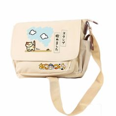 neko atsume on We Heart It Kawaii Bags, Kawaii Clothes, Pretty Outfits, Cool Outfits, Neko Atsume, Things To Buy, Stuff To Buy, Cute Backpacks, Cute Bags