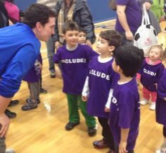 Let All The Children Play Foundation and Hofstra University put an Inclusive sports Clinic together for children and families #Kids #Play #SpecialNeeds #Inclusion