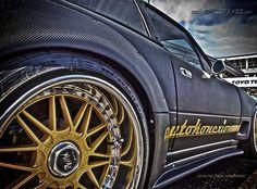 Carbon fiber wide body Miata from Autokonexion Mazda Roadster, Mx5 Parts, Thing 1, Mazda Miata, Wide Body, Mk1, Carbon Fiber, Awesome