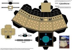 Sci-Fi Party Line News Network – Cubee – Dalek 'Doctor Who' by ~CyberDrone on deviantART