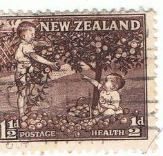 11/2d New Zealand stamp