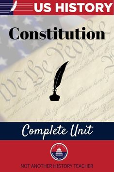 Enhance your teaching with this comprehensive United States History unit! This is the second unit in my full US History course! Unit 2 engages your students with in-depth information and activities about the US Constitution. Not only will this unit lead your students to master critical thinking skills, but it will make your life much easier.