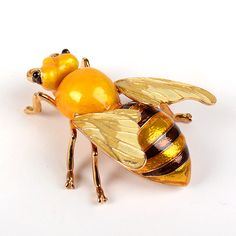 Golden Bee Decorative Box