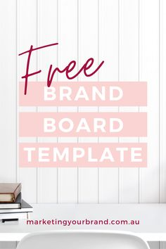 Free Mini Brand Board Template by Marketingyourbrand.com.au | Are you stuck in a logo colour daze? Need to create something better? Fast track your way to your dream branding with our latest FREEBIE! Simply DOWNLOAD OUR TEMPLATE, then SAVE it AND experiment with fonts, colours, textures, moods and patterns – FREE on CANVA! #businesstips #brandingtips #branding #moodboard #businessresources #marketing