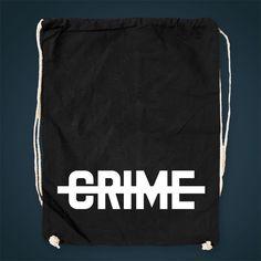 Collegebag - black - CRIME Shop ♡
