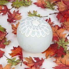 Laura Ashley Blog: Lace Inspired Pumpkin