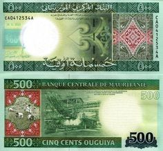 MAURITANIA 500 Ouguiya Banknote World Paper Money Currency Bill 2013 Note Africa in Coins & Paper Money | eBay