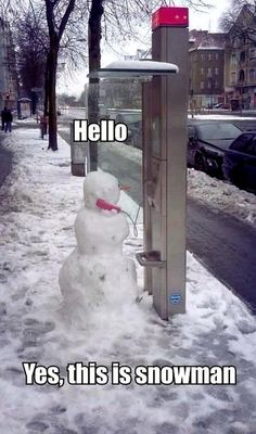 Yes, this is snowman.