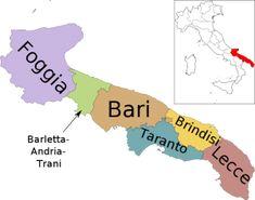 Il giro d'Italia con le regioni: la Puglia #TuscanyAgriturismoGiratola