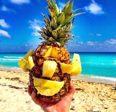 tropical.  food porn