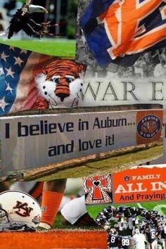 I believe in Auburn & love it! Football War, Football Crafts, Auburn Football, College Football Teams, Football Memes, Auburn Tigers, Football Season, Auburn Alabama, Funny Audio