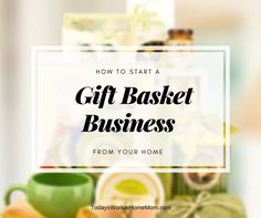 If you are creative and like to make gifts for others, then a home-based gift basket business might be right for you. Learn the steps to get started here. Creative Gift Baskets, Creative Gifts, Making Baskets, Towel Cakes, Diy Presents, Work From Home Moms, Working Moms, Extra Money, Special Gifts