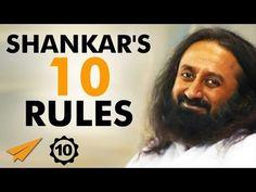 Sri Sri Ravi Shankar's Top 10 Rules For Success - YouTube