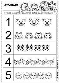 Resultado de imagen para atividade conjuntos educação infantil