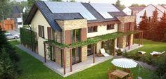 Proiect de casa pentru 2 familii - locuinta tip duplex