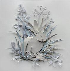 helen musselwhite paper cut art
