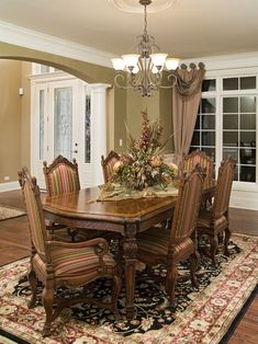 Elegant Traditional Home With English Pub, Traditional Dining Room, Chicago