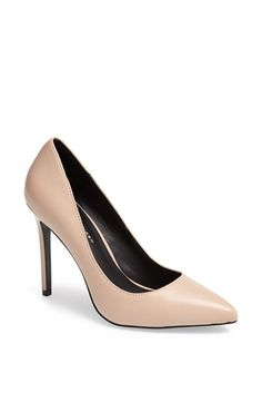 KG Kurt Geiger 'Bailey' Leather Pump available at #Nordstrom