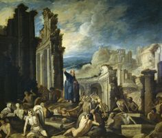 Collantes, Francisco - The Vision of Ezekiel - 1630