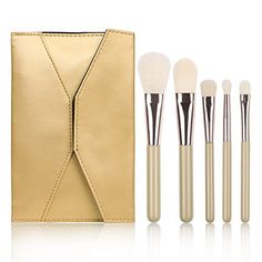 Docolor® 5Pieces Premium Synthetic Mini Makeup Brush Set Travel Foundation Blending Brush Powder Contour Eyeshadow Eyebrow Brush Makeup Brushes Kit with Cosmetics Case Docolor http://www.amazon.com/dp/B018E72O9K/ref=cm_sw_r_pi_dp_wOkGwb0BXPRE6