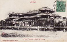 HUE - ENTREE DU PALAIS DU ROI D´ANNAM - Ngọ Môn, cửa chính vào Hoàng Thành by manhhai, via Flickr