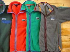 Patagonia fleece jacket made with recycled polyester, via https://www.newdream.org/blog/2011-10-patagonia