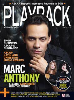"Marc Anthony ""PLAYBACK"""