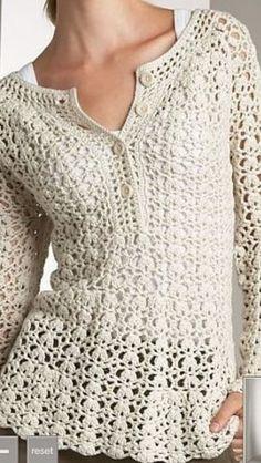 Crochet apparel #i heart crochet #lovely clothes