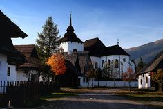 Museum of Liptov village  by veruška, via Flickr