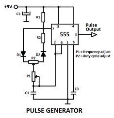 555 variable pulse generator