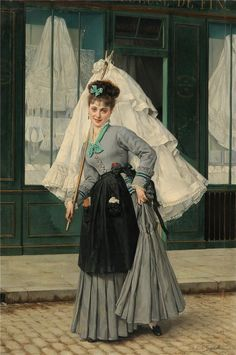 Jules Emile Saintin (French, 1829-1894)