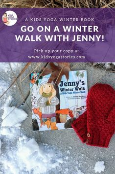 Winter Yoga Book for Kids Join Jenny as she meets various animals on a winter walk with her mom. Be a squirrel, a fox, and a bunny. Discover winter, explore movement, and learn the five senses. Kindness Activities, Literacy Activities, Activities For Kids, Physical Activities, Kinesthetic Learning, Yoga Books, Kids Moves, Gross Motor Activities, Winter Walk
