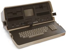 before computers there was the IBM word processor...damn thing was heavy