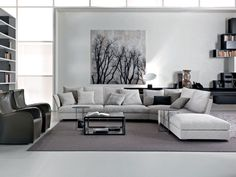 Creative Modern Grey Living Room For Home Decoration For Interior Design Styles with Modern Grey Living Room