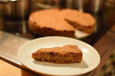 Cake with musli and apples. So delicious!