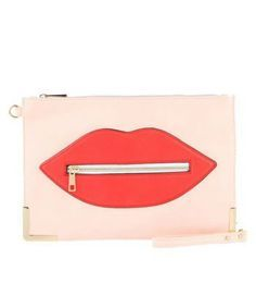 We won't tell anyone what a steal you got on this clutch—our lips are sealed!