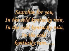 ELVIS PRESLEY - KENTUCKY RAIN ( LYRICS ) VINYL 1974 Elvis Presley Videos, Elvis Presley Photos, Me Too Lyrics, Song Lyrics, Lyric Art, Always On My Mind, Movie Themes, Hit Songs, We Remember