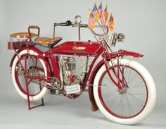 1913 Indian 61 Motorcycle