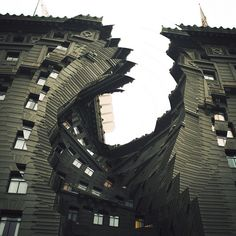 Twisted Architecture by Nicholas Kennedy Sitton