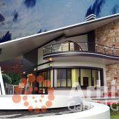 Casa cu etaj 58 | Proiecte de case personalizate | Arhitect Gabriel Georgescu & Echipa House Design Pictures, Modern House Facades, Small House Interior Design, Kerala House Design, Kerala Houses, Facade House, Design Case, Architecture Design, House Plans