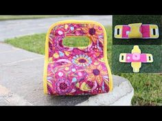 Como fazer um  porta Marmita ou porta Travessa Diy Crafts Hacks, Craft Tutorials, Patchwork Quilt, Quilts, Sewing Case, Daisy Love, Fabric Dolls, Handmade Bags, Craft Videos