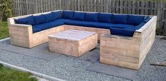 wooden pallet outdoor couch