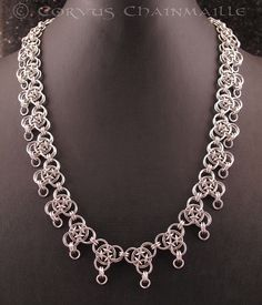 dragonscale chainmaille pattern - Google Search