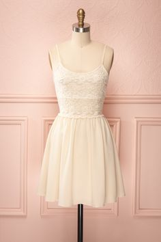 Payton Ivory Dress simple yet pretty