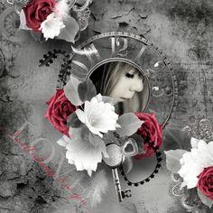 """Timeless"" - Lilas Digiscrap Chloé (RAK Laurence Ducarne) : http://shop.scrapbookgraphics.com/Lilas-Designs/"