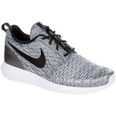 Nike Roshe NM Flyknit Running Shoe ($145) ❤ liked on Polyvore featuring men's fashion, men's shoes and men's athletic shoes